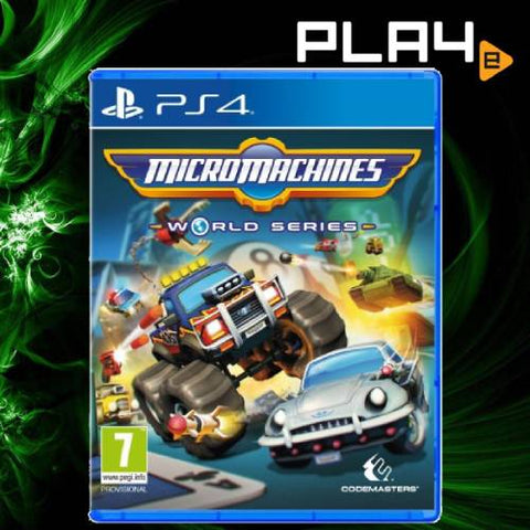 PS4 Micro Machines World Series (R2)