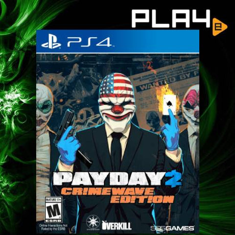 PS4 Payday 2: Crimewave Edition