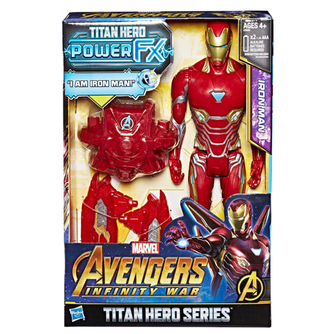 Hasbro Marvel Avengers Infinity War Titan Hero Power Iron Man