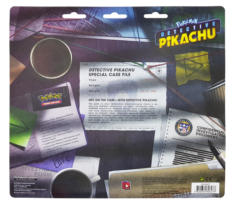 Pokemon Detective Pikachu Special File Case TCG