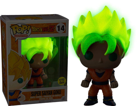Funko POP! (14) Dragon Ball Z Super Saiyan Goku Glow In Dark