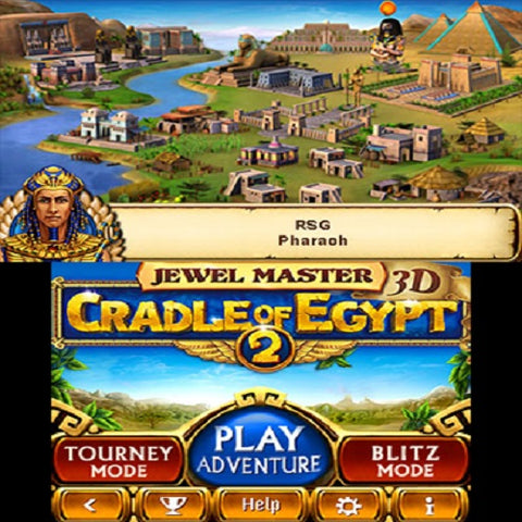 3DS Jewel Master Cradle of Egypt 2