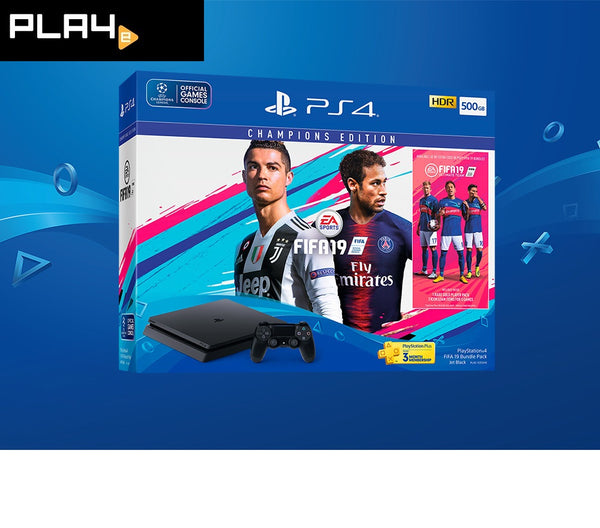 PS4 FIFA 19 Console Bundle Pack (500GB)
