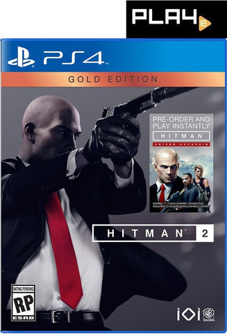 PS4 HITMAN 2 GOLD EDITION