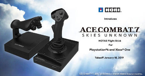 Hori Ace Combat 7 HOTAS Flight Stick for PlayStation 4