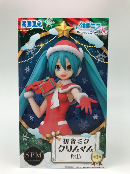 SPM Project Diva F2nd Miku Ver 1.5 Xmas Outfit