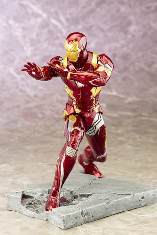 Captain Ameria CW Iron Man Mark 46 ArtFX + Statue