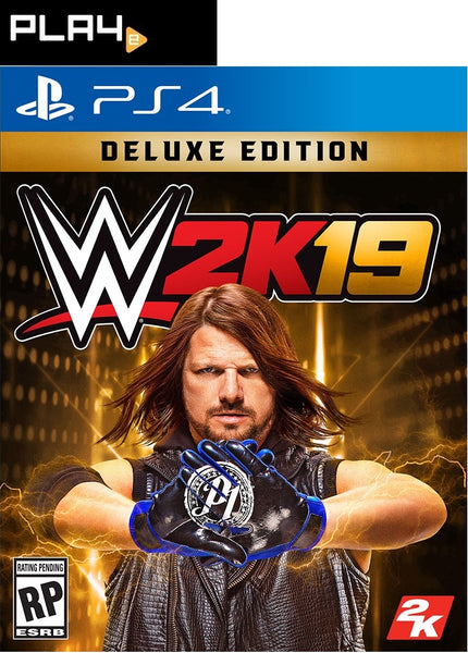 PS4 WWE 2K19 (DELUXE EDITION)