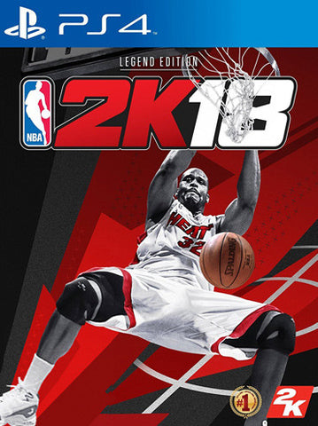 NBA 2K18 PS4 (Legend Edition)