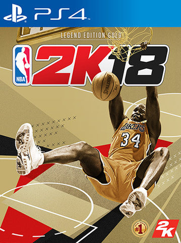 NBA 2K18 PS4 (Legend Gold Edition)