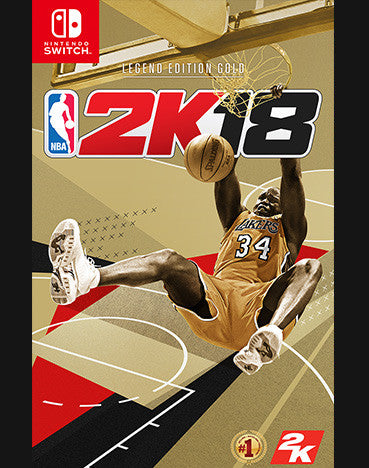 NBA 2K18 Switch (Legend Gold Edition)