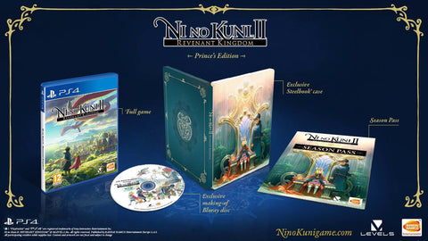 PS4 Ni No Kuni II Revenant Kingdom Prince's Edition (Region 3 English)