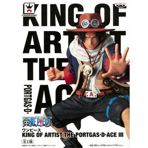One Piece King of Artist Portgas D Ace III