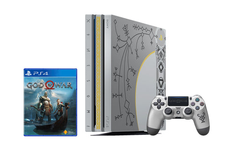 Playstation 4 Pro God of War Limited Edition Console