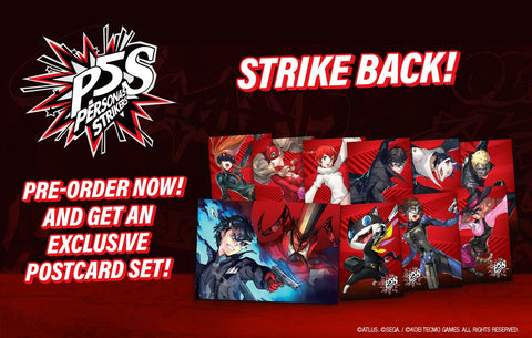 Nintendo Switch Persona 5 Strikers Standard Edition