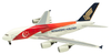 Singapore Airlines 1/500 Scale Plastic Model