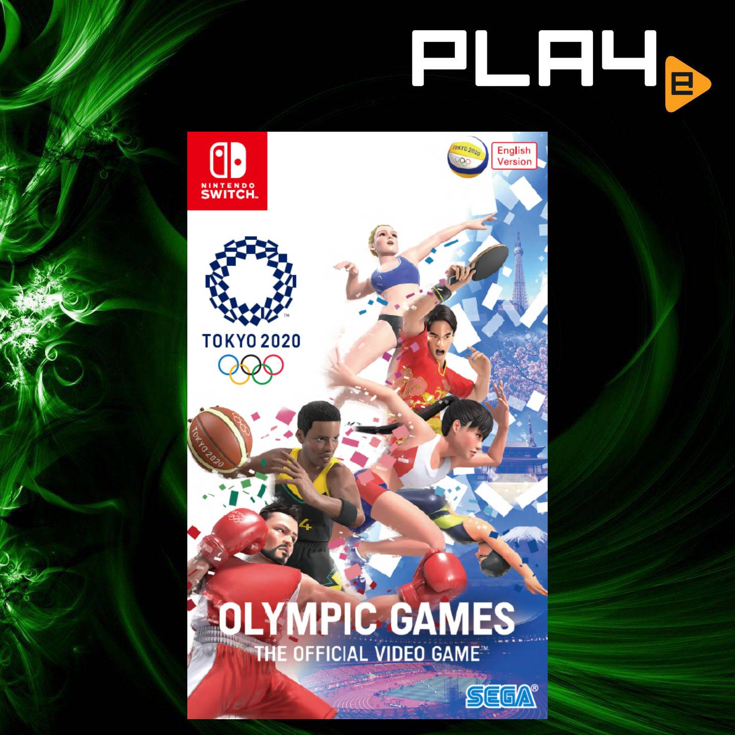 Switch 2020 Games.Nintendo Switch Olympic Games Tokyo 2020 The Official Video