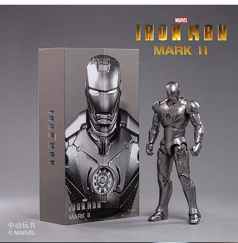"ZD Toys Iron Man 7"" Hall of Armor + 7"" Mark III"