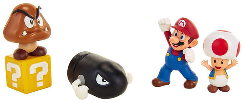 World of Nintendo 2 1/2-Inch Acorn Plains Fig Set
