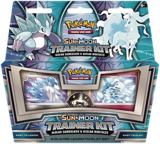 Pokemon TCG Alolan Sandslash & Ninetales Trainer Kit