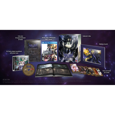 PS4 Anima Gate Of Memories Beyond Fantasy Edition (Region 1)