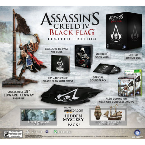 PS3 Assassin's Creed IV Black Flag Collector Edition