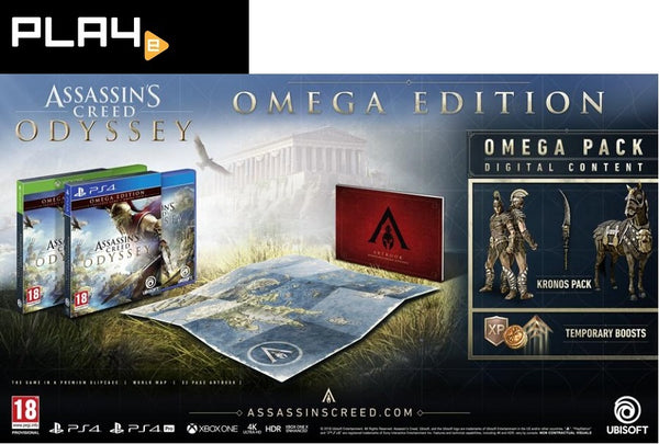 PS4 Assassin's Creed Odyssey [Omega Edition]
