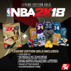 XBox One NBA 2K18 Legend Edition Gold (bonus digital items code expired)