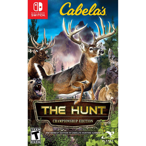 Nintendo Switch Cabela's The Hunt [Championship Edition] w Bullseye Pro peripheral