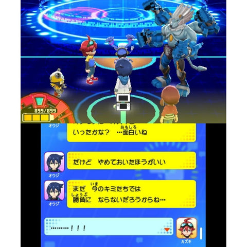 3DS  Digimon Universe Appli Monsters (Jap)