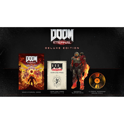 PS4 DOOM Eternal Deluxe Edition (R3)