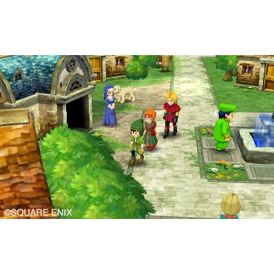 3DS DRAGON QUEST VII FRAGMENT OF THE FORGOTTEN PAST