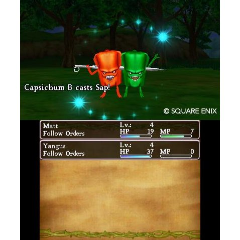 3DS DRAGON QUEST VIII JOURNEY OF CURSED KING