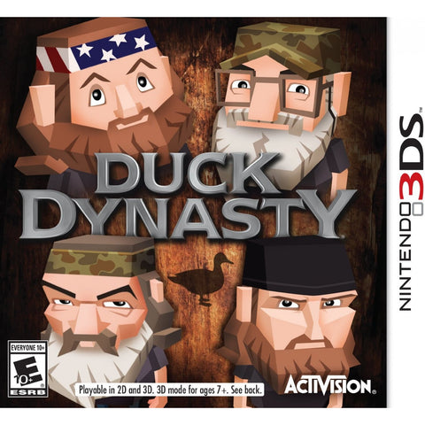 3DS DUCK DYNASTY