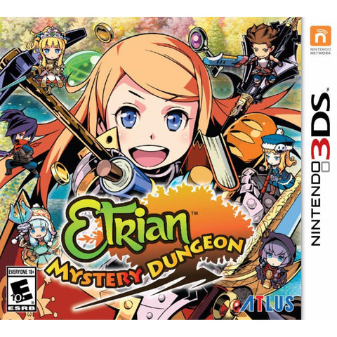 3DS ETRIAN MYSTERY DUNGEON WITH MUSIC CD
