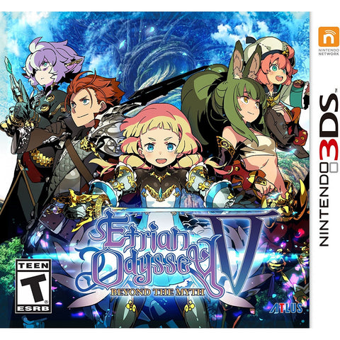 3DS Etrian Odyssey V: Beyond the Myth
