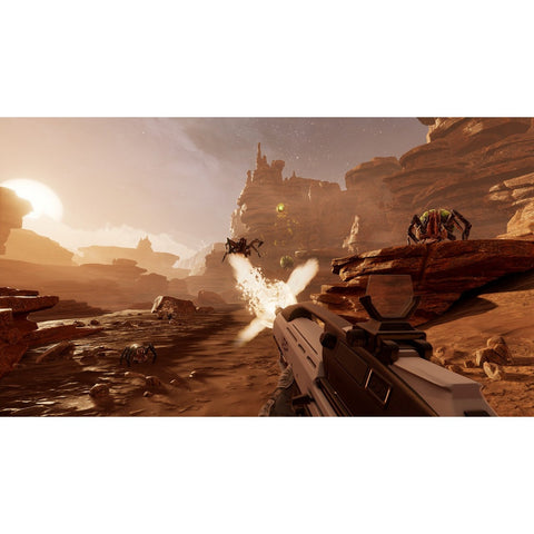 PS4 VR Farpoint Software