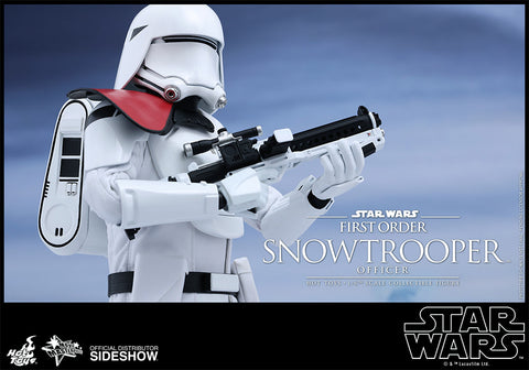 Hot Toys Star Wars First Order Snowtrooper Officer