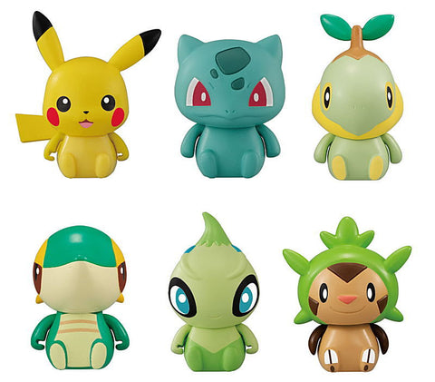Collechara Pokemon Part 3 Capsule (Set of 6)