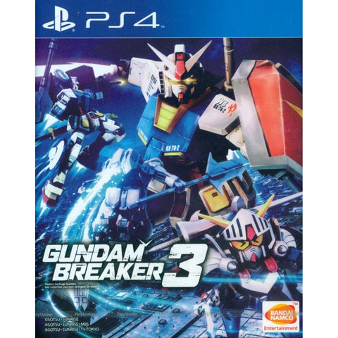 PS4 Gundam Breaker 3 - English Subtitle