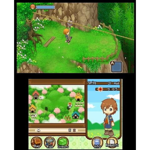 3DS Harvest Moon: The Tale of Two Towns
