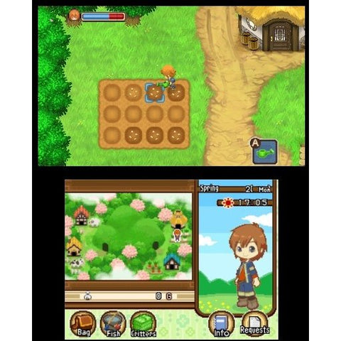 3DS HARVEST MOON : THE TALE OF TWO TOWNS