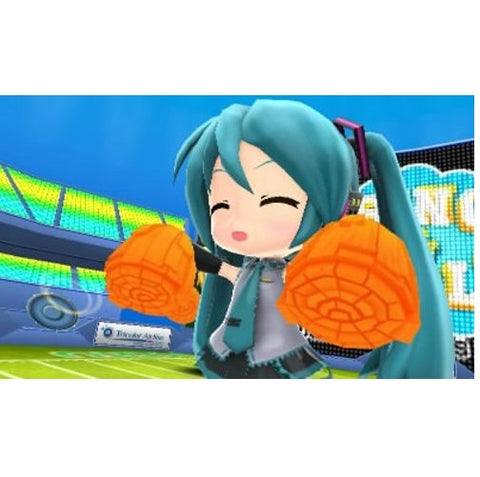 3DS HATSUNE MIKU AND FUTURE STAR PROJECT MIRAI