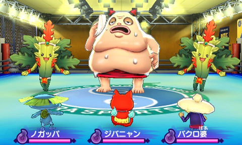 3DS YOKAI WATCH 2 HONKE (JPN)