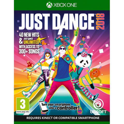 XBOX One Just Dance 2018 (Asia)