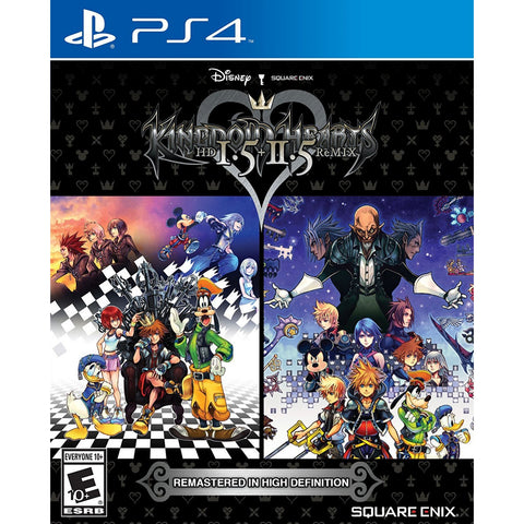 PS4 Kingdom Hearts: HD 1.5 + 2.5 Remix (US)