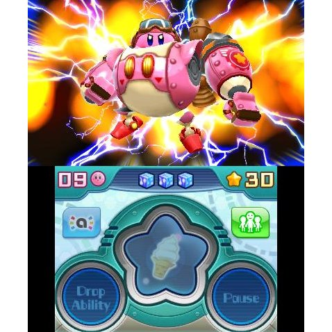3DS Kirby: Planet Robobot