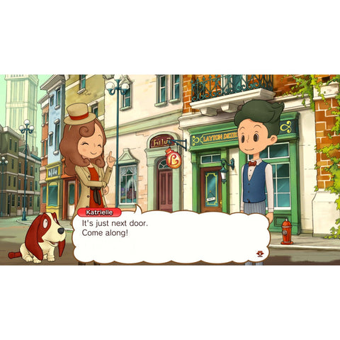 Nintendo Switch Layton's Mystery Journey: Katrielle and The Millionaires' Conspiracy (EU)