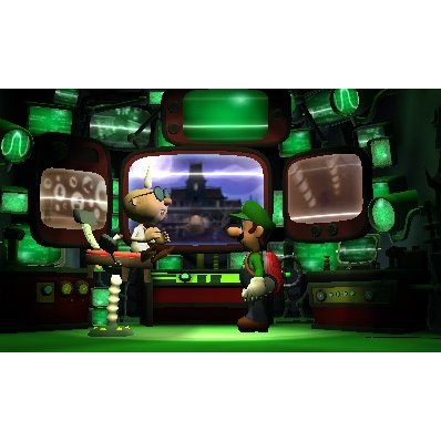 3DS Luigi's Mansion: Dark Moon