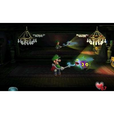 3DS Luigi's Mansion